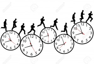 3173217-a-business-man-runs-in-a-hurry-runs-on-time-through-the-business-day-on-a-row-of-time-clocks-animati